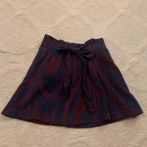 Anthropologie Circle Skirt
